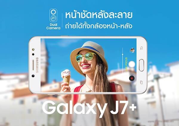 Galaxy J7+ может стать вторым смартфоном Samsung с двойной камерой