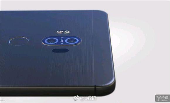 Первые рендеры Huawei Mate 10