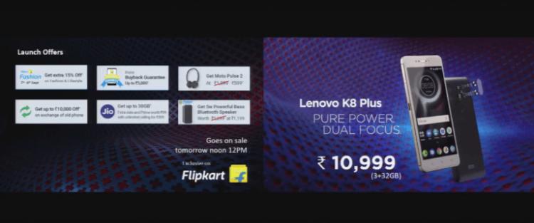 Lenovo K8 Plus