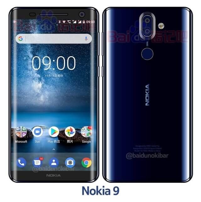 Дизайн Nokia 9?