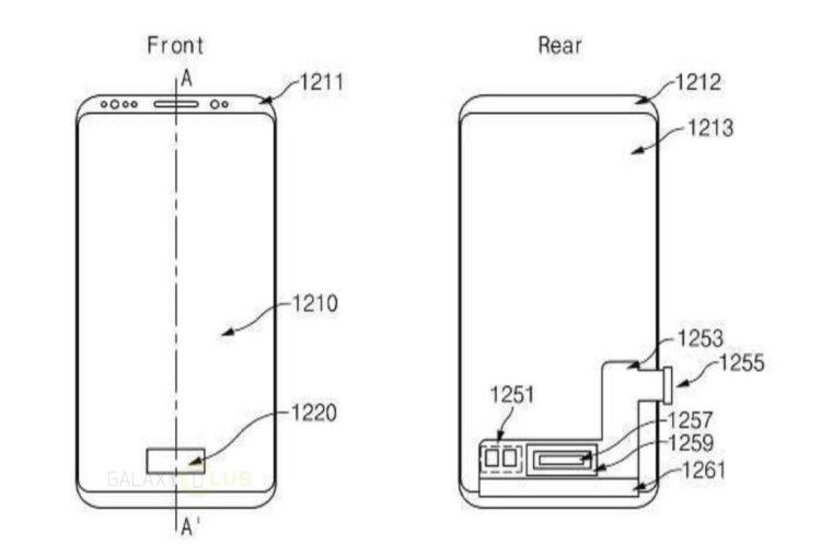 Дисплейный сканер отпечатков пальцев - в Galaxy Note 9?