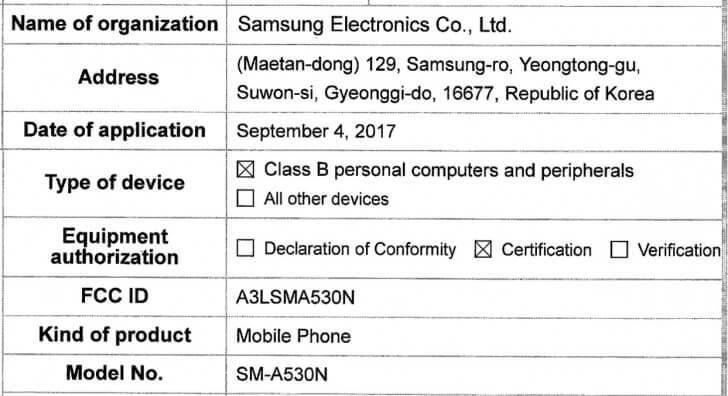 Samsung Galaxy A5 (2018)?