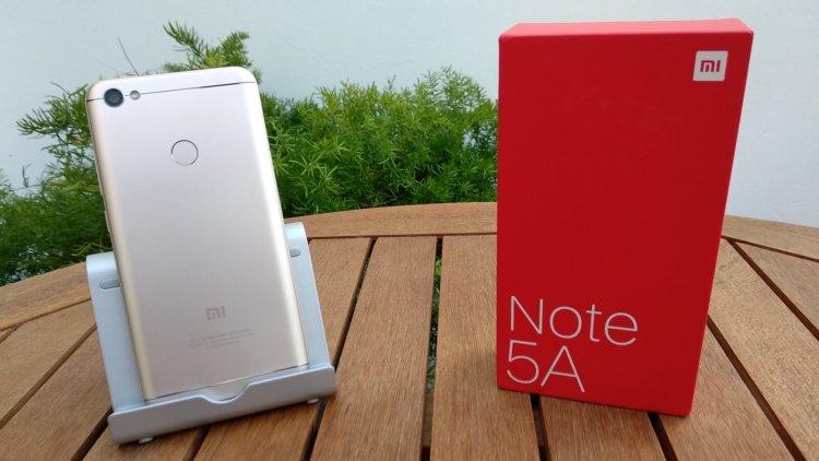 Xiaomi начинает российские продажи Redmi Note 5A Prime