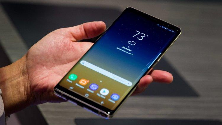 Некоторые Galaxy Note 8 подвержены самопроизвольным зависаниям