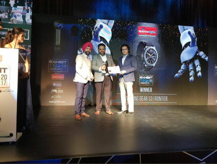 Galaxy Note 8 назван флагманом года в Индии
