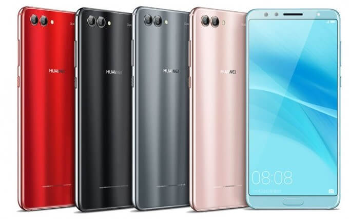 Huawei анонсировала Nova 2s