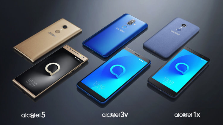Смартфоны Alcatel 2018 года
