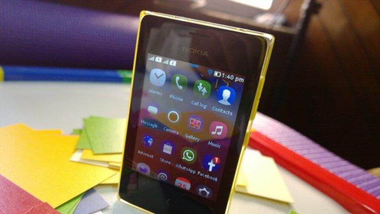 Nokia Asha 502 Touch