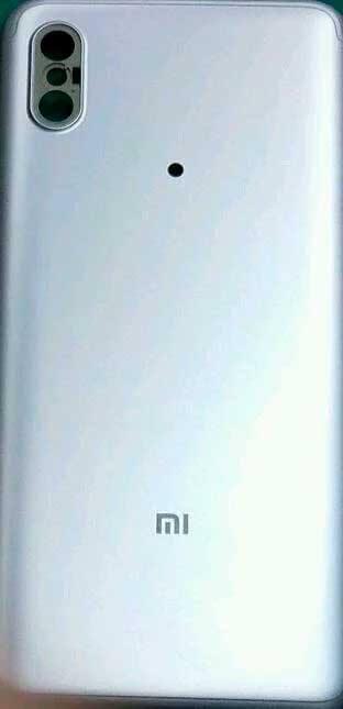 Задняя панель Xiaomi Mi 6X?