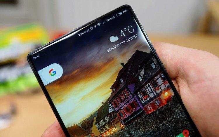 Следующий Google Pixel может получить дизайн в стиле Xiaomi Mi Mix