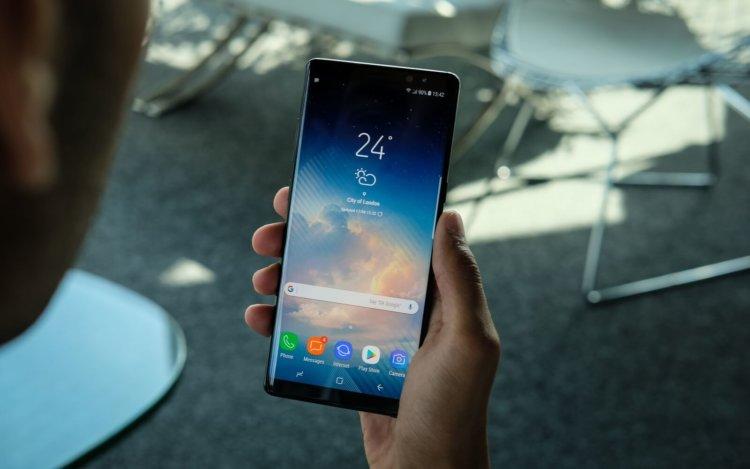 Samsung рассказала, как увеличить автономность Galaxy Note 8