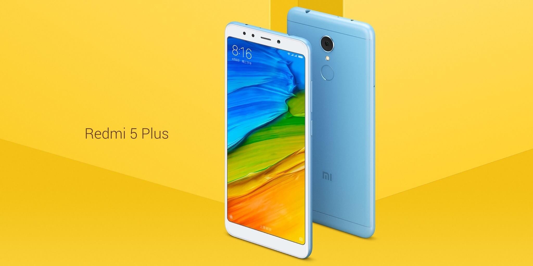 Xiaomi Redmi 5 Plus за 9000 рублей и не только на распродаже LightInTheBox!