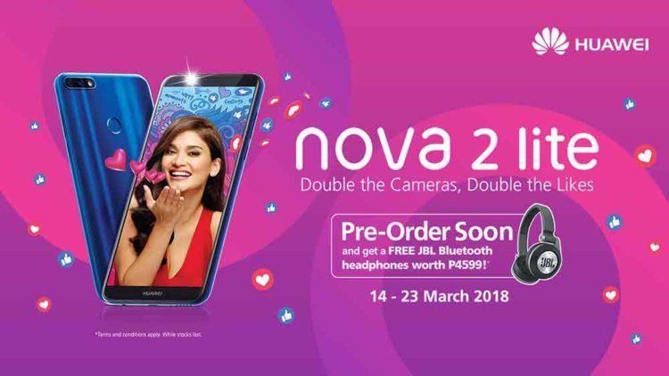 Huawei представила Nova 2 Lite