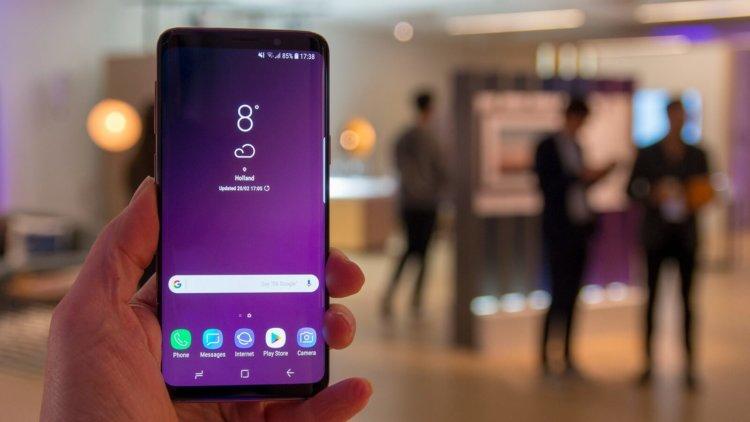 Galaxy S9 разогнали до 1 Гбит/с в сетях 4G