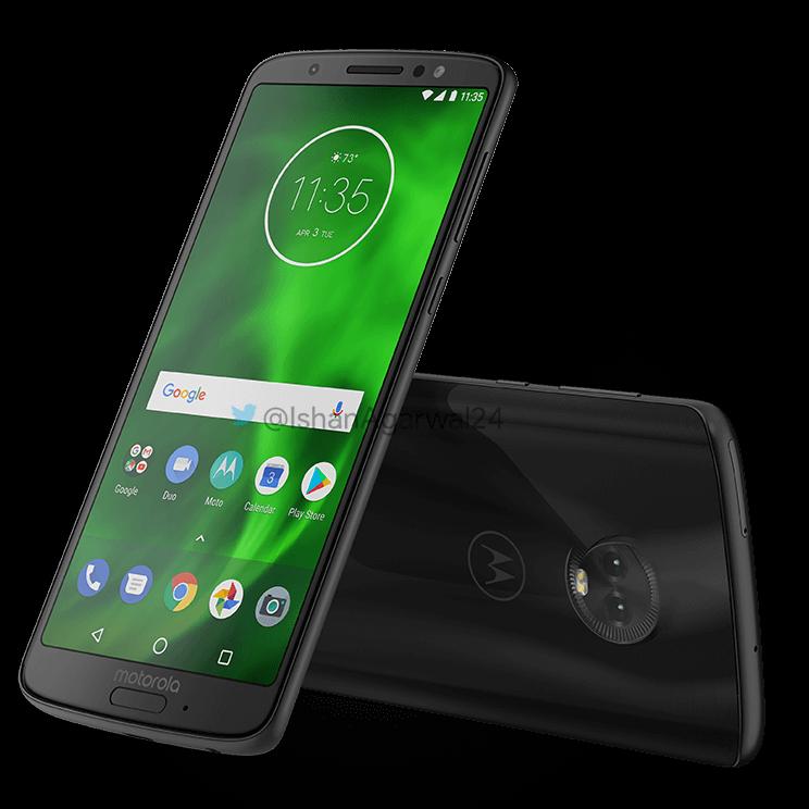 Новые Moto G6?