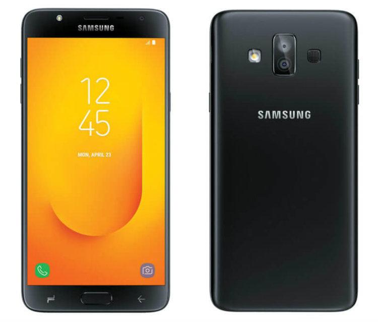 Рендер Galaxy J7 Duo