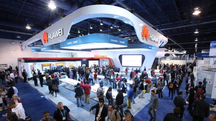 Huawei на CES 2014