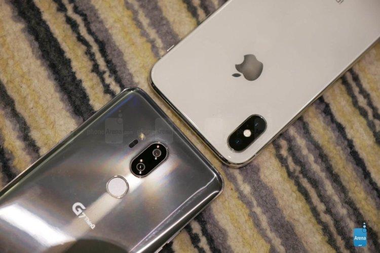 LG G7 ThinQ уже сравнили с iPhone X