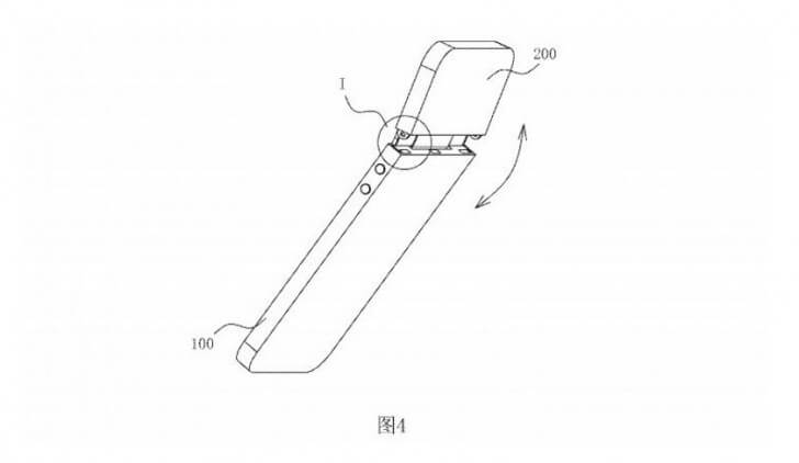 Складываемый смартфон Samsung?
