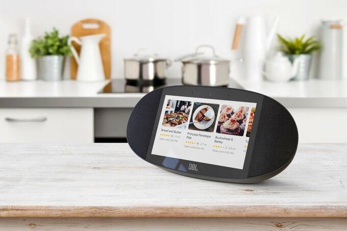 JBL Link View - умный дисплей с Google Assistant