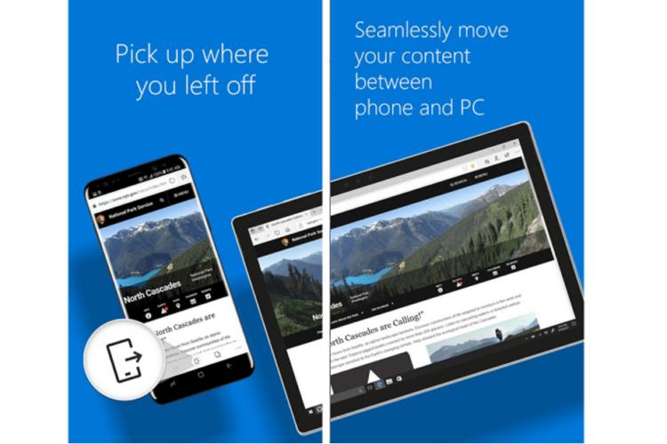 Обновленный браузер Microsoft Edge для Android уже доступен в Google Play