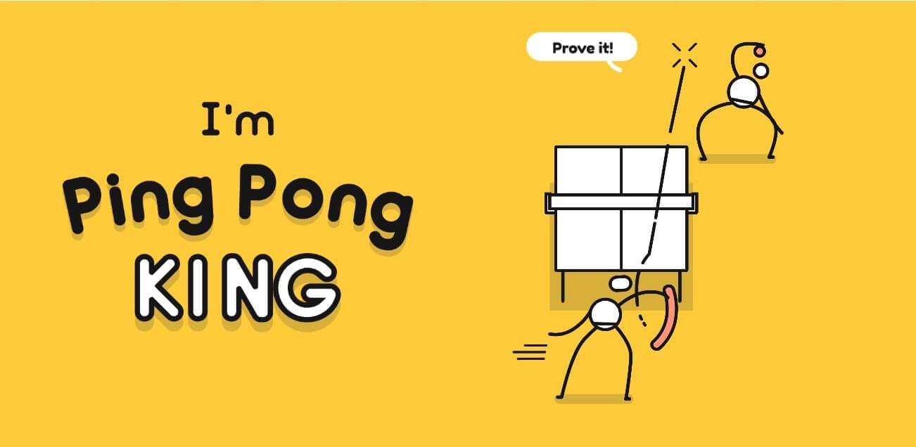 I'm Ping Pong King — насколько хороша твоя реакция?