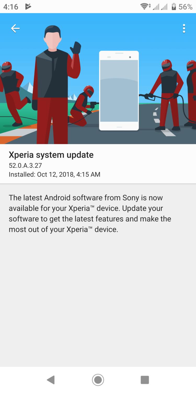 Флагман Sony Xperia XZ2 получает Android 9 Pie