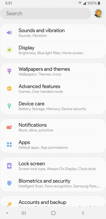 Samsung Experience 10 c Android 9.0 Pie - на Galaxy S9+
