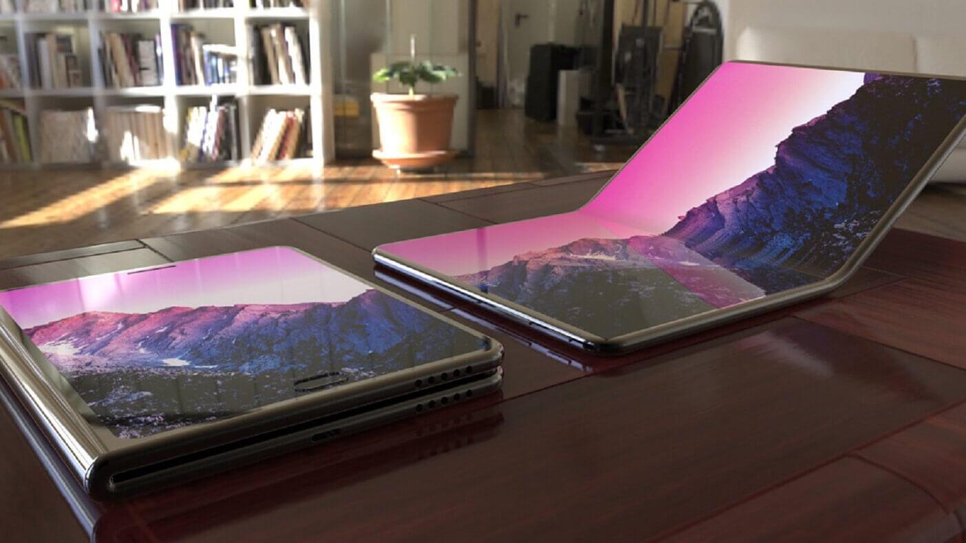 Сгибаемый телефон-планшет