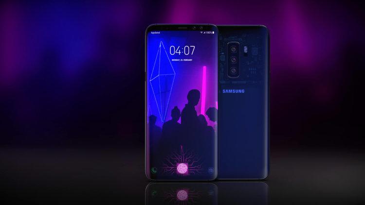 Концепт дизайна Galaxy S10