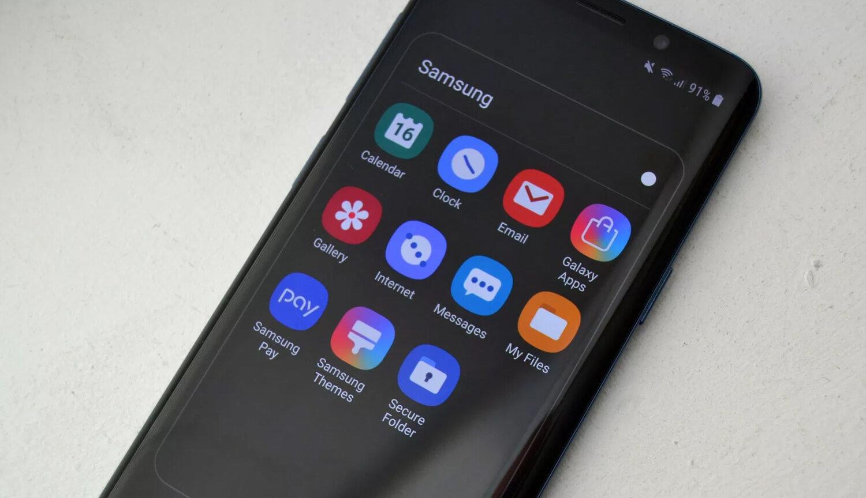 Оболочка Samsung One UI