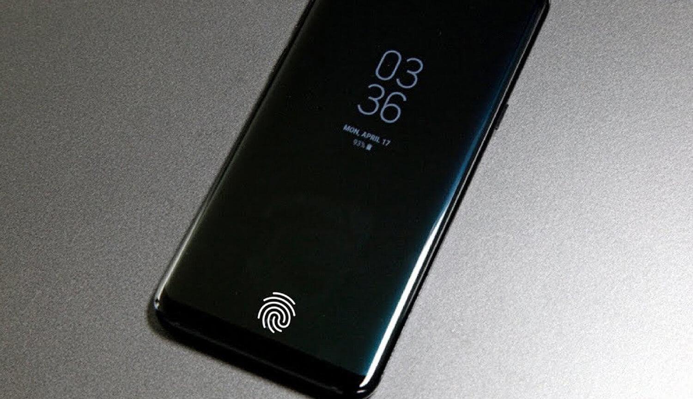 Сканер отпечатков пальцев на дисплее Samsung