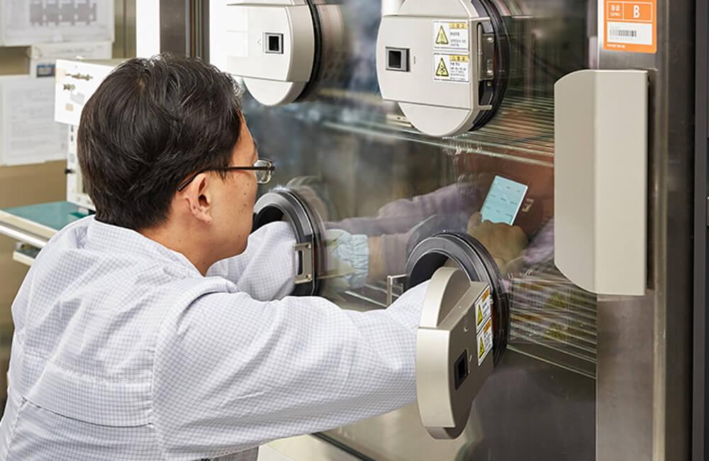 Тестирование на экологичность Samsung