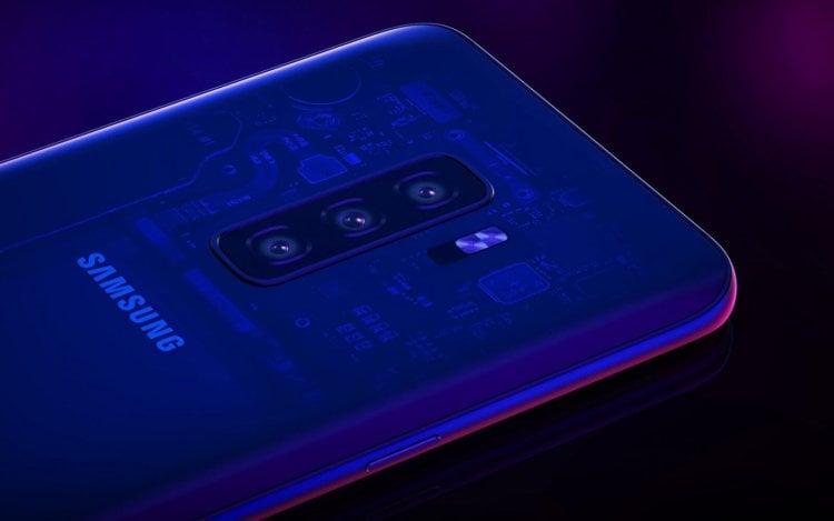 Samsung показала, как может выглядеть Galaxy S10