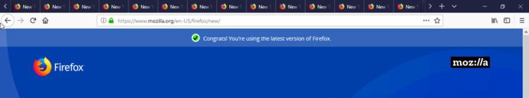 Вкладки Mozilla Firefox