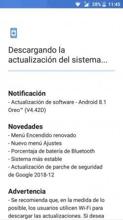 Android 8.1 Oreo для Nokia 3