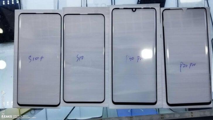 Samsung Galaxy S10 и Huawei P30 Pro