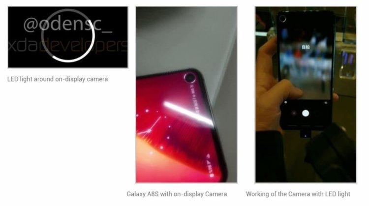 Индикатор Samsug Galaxy S10