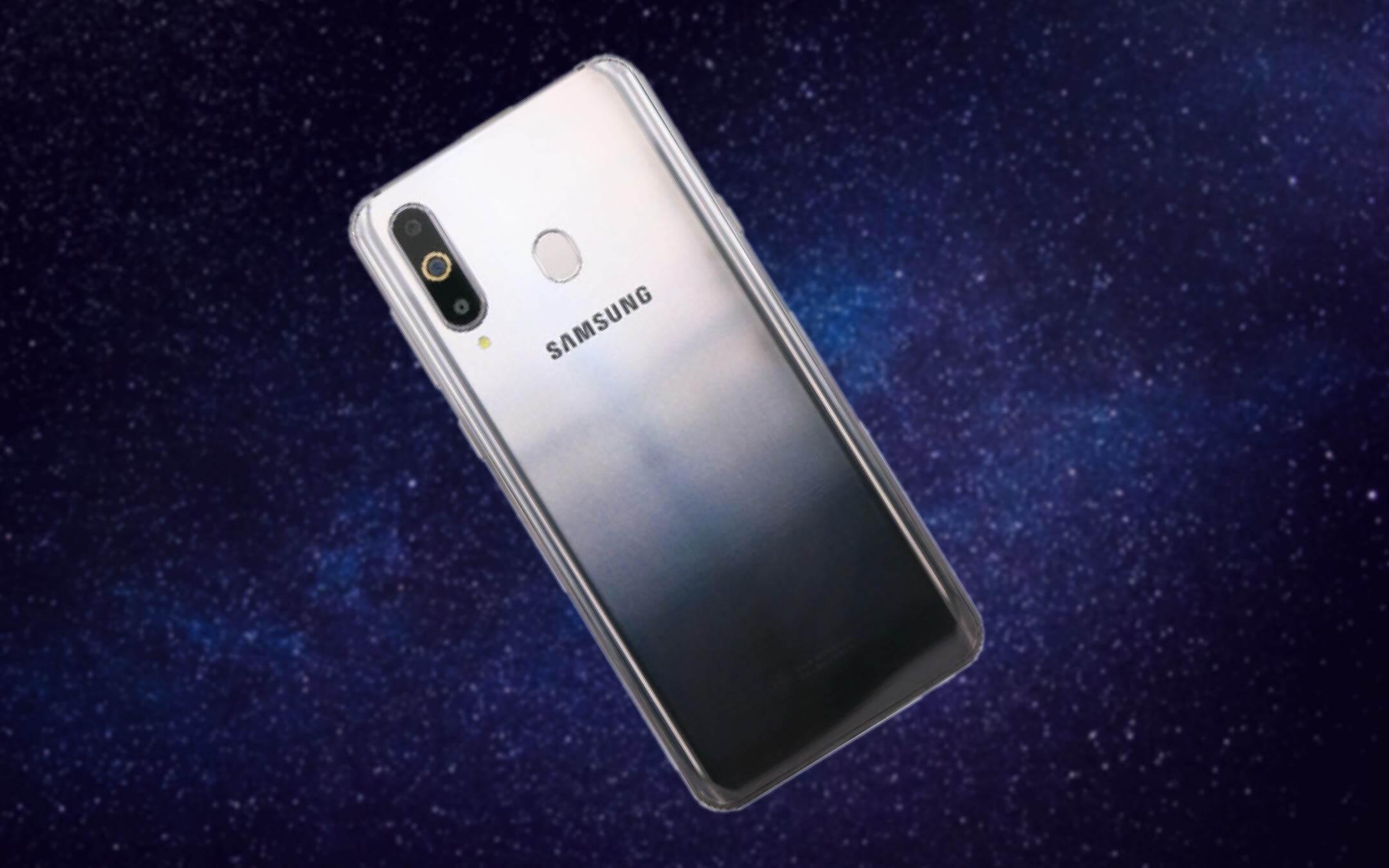 Samsung Galaxy A8s, вероятно, самый красивый смартфон компании