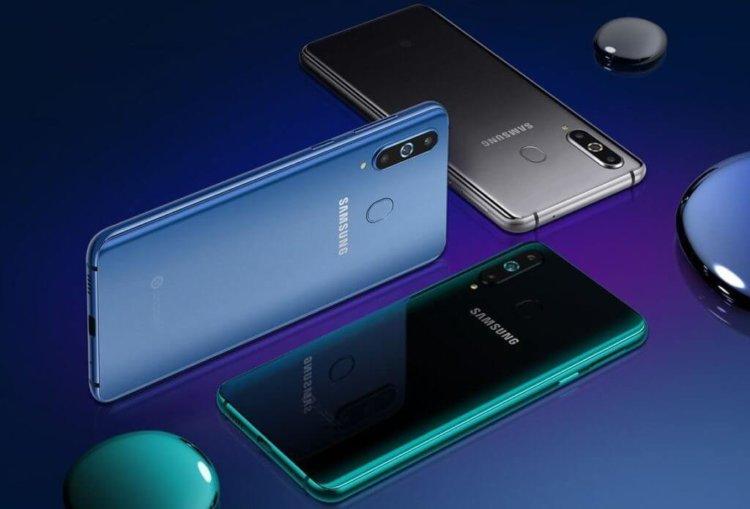 Samsung официально представила Galaxy A8s с отверстием для камеры в дисплее