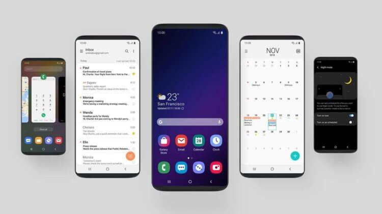 Samsung One Ui 2 — фишки