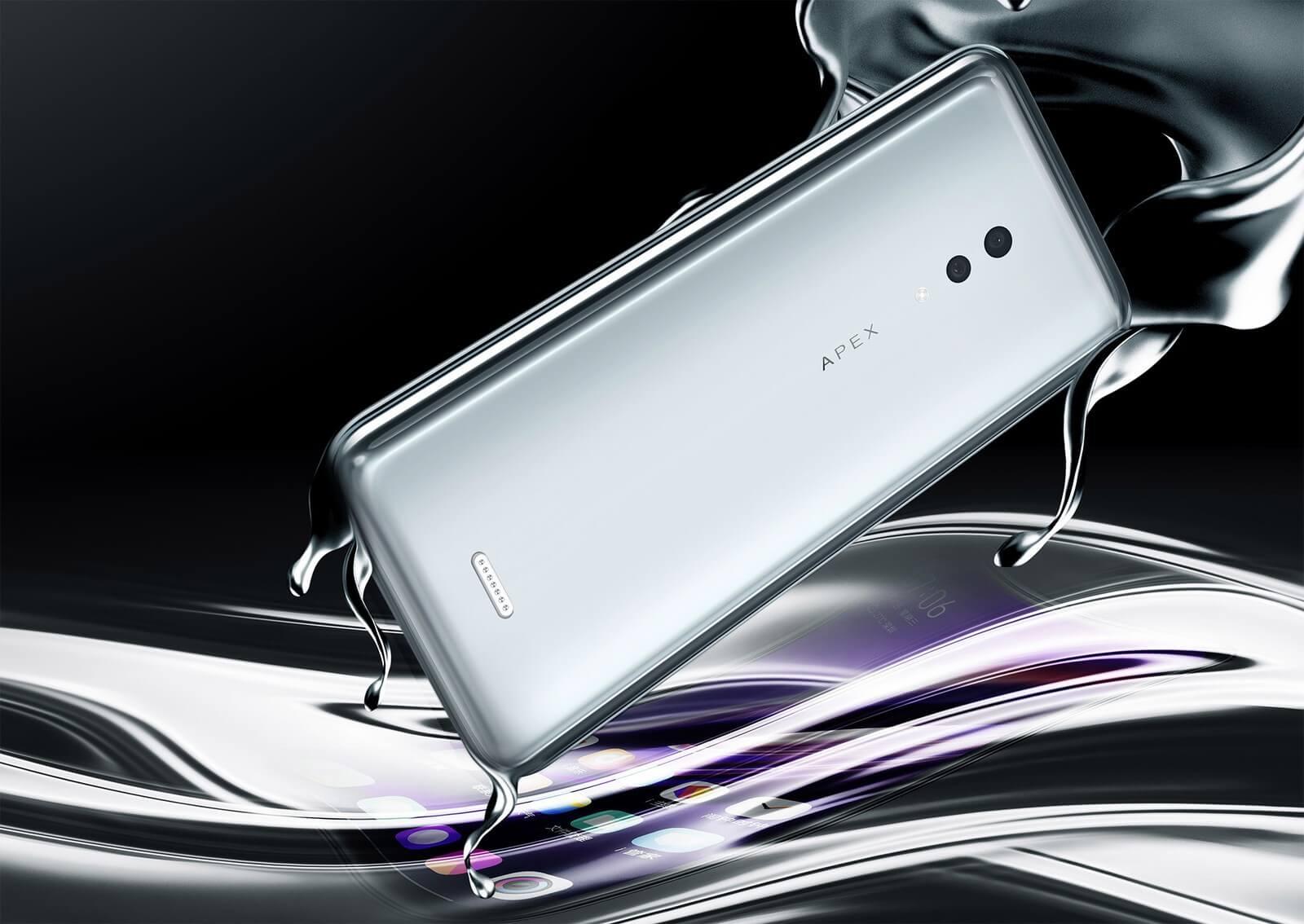 Vivo Apex 2019— передовой 5G-флагман суникальным дизайном