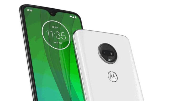 Motorola представила Moto G7 Play, G7 Power, G7 и G7 Plus