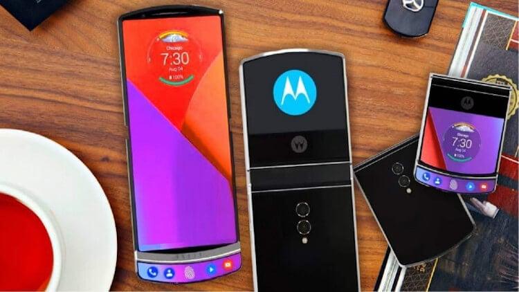 Складной смартфон от Motorola будет уметь кое-что необычное