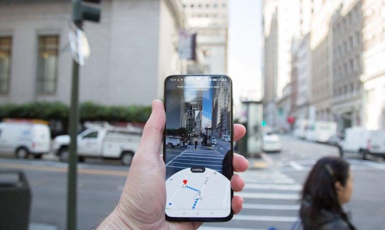 Google запустила AR-режим в Google Maps для избранных пользователей