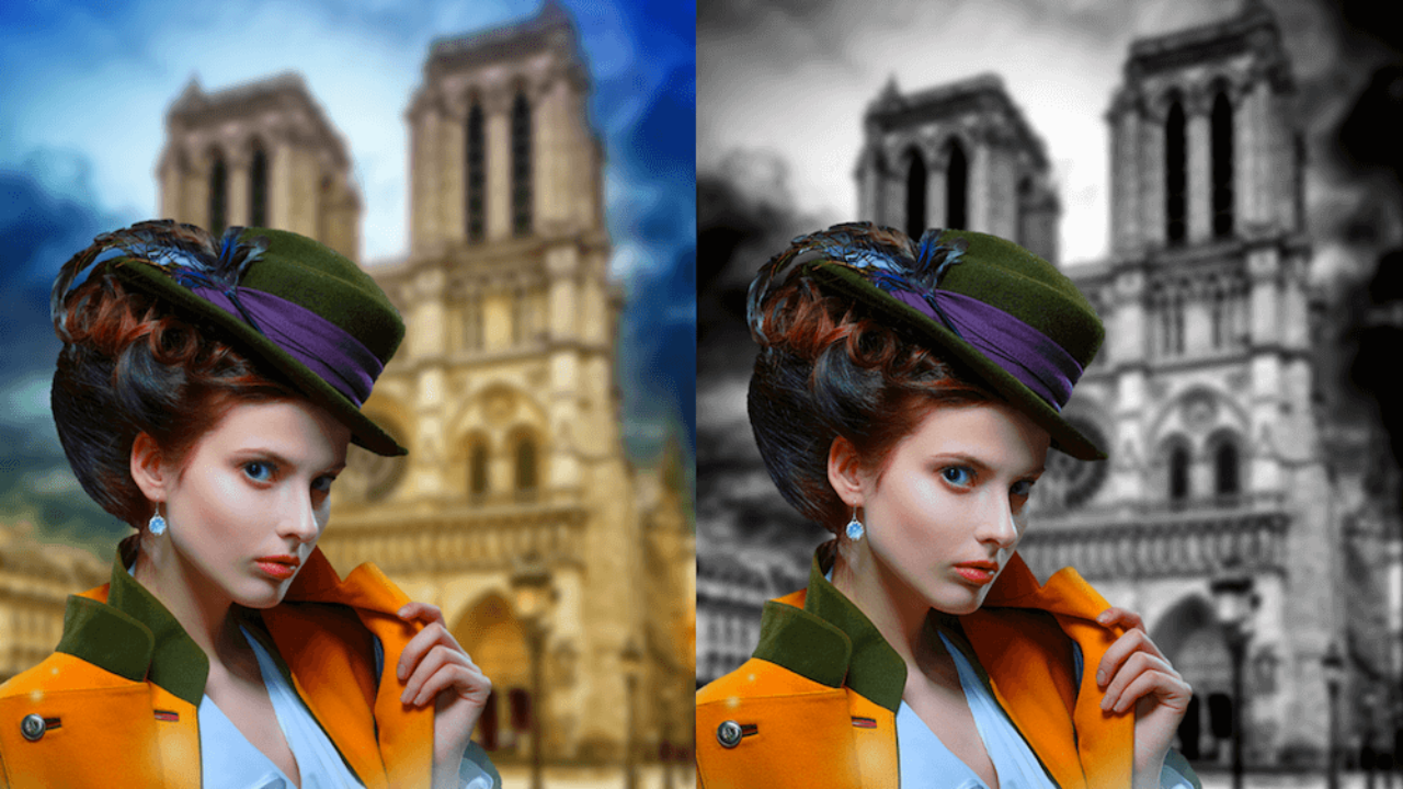Как вырезать часть картинки с помощью Photoshop | 720x1280