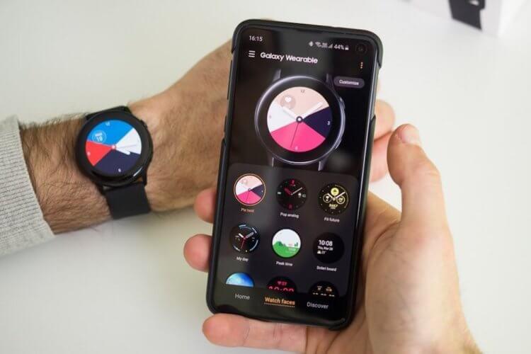 Обновление One UI привносит множество новых функций для старых умных часов Samsung