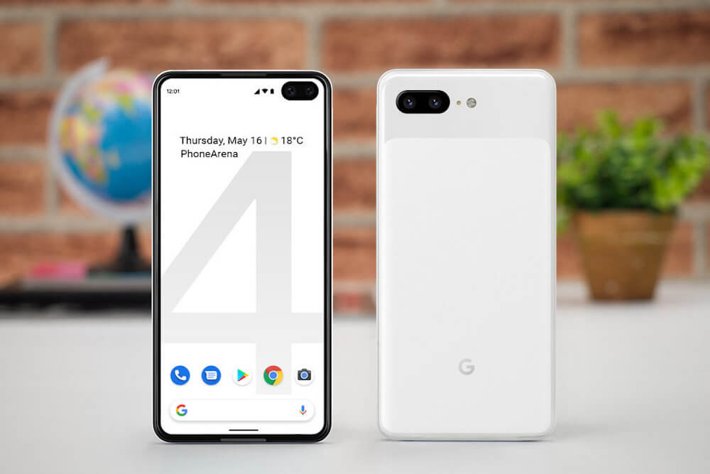 Рендеры Google Pixel 4 в новом дизайне