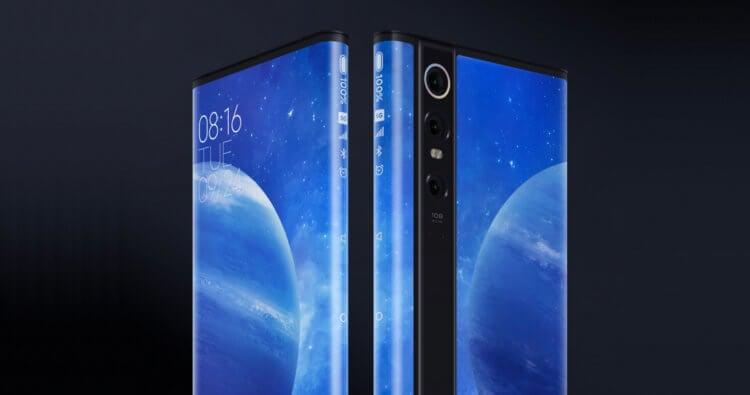 Xiaomi порвала Apple. Весь её телефон — один сплошной экран
