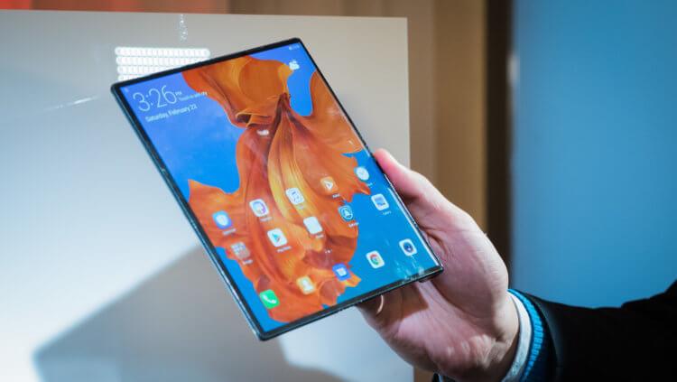 Huawei снизит цену складного Mate X почти в два раза